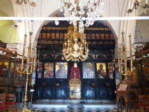 eglise orthodoxe santorin