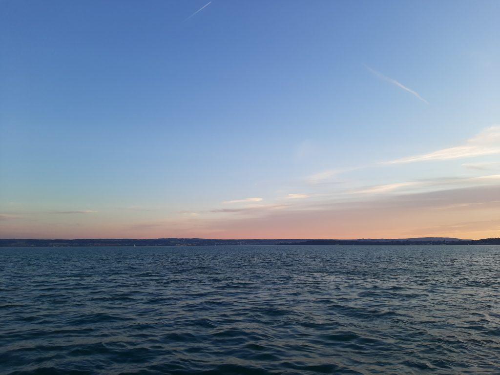 meersburg coucher de soleil