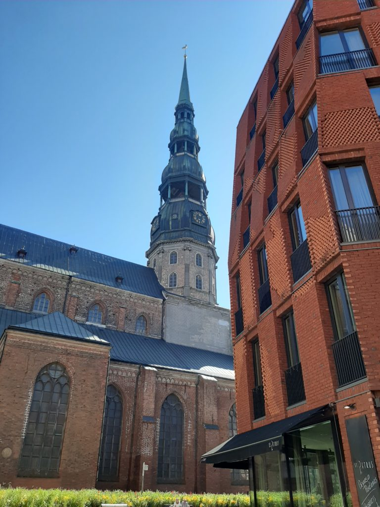 église St Peter riga
