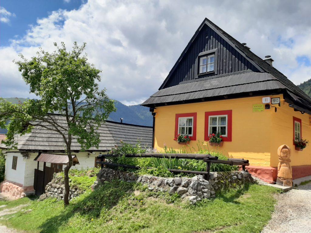 Vlkolinec slovaquie village unesco